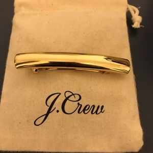 J. Crew Accessories - J.Crew Gold Hair clip